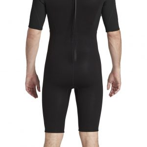 2020 Billabong Mens Intruder 2mm Back Zip Shorty Wetsuit 042M19 – Back.1000×2000